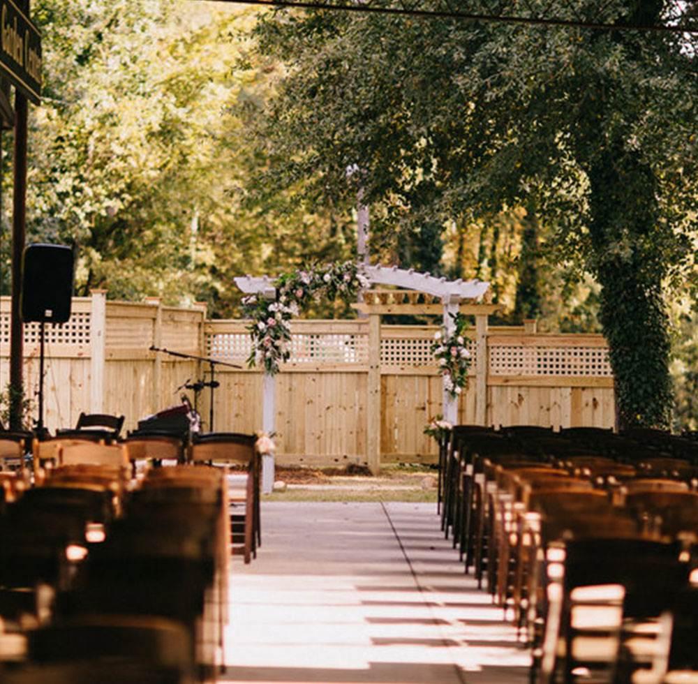 Sterling Wedding Garden seating