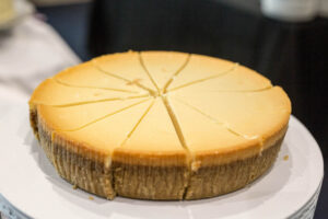 Dupre Catering cheesecake