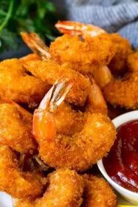 Fried shrimp at the Market Restaurant