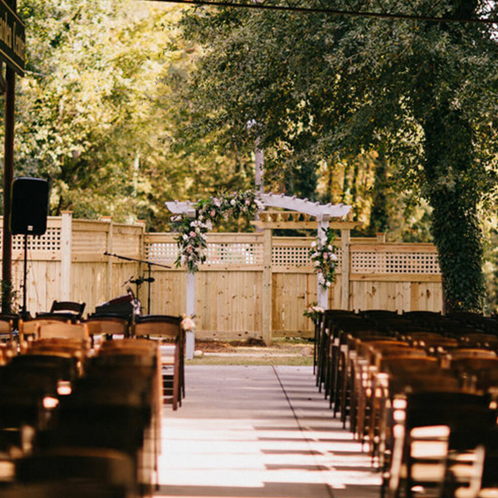 Sterling Wedding Garden seating